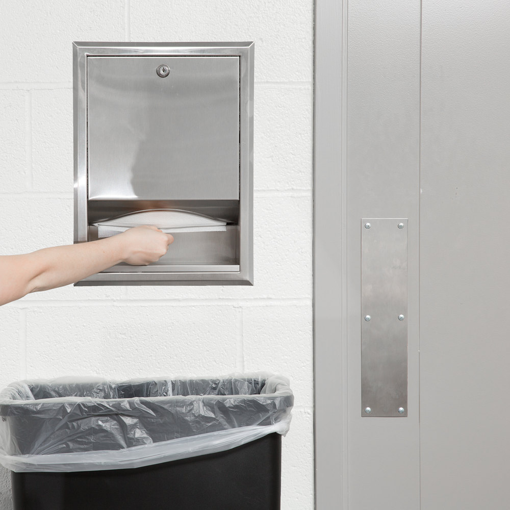 Bobrick B-359 C Fold or Multifold Recessed Paper Towel Dispenser