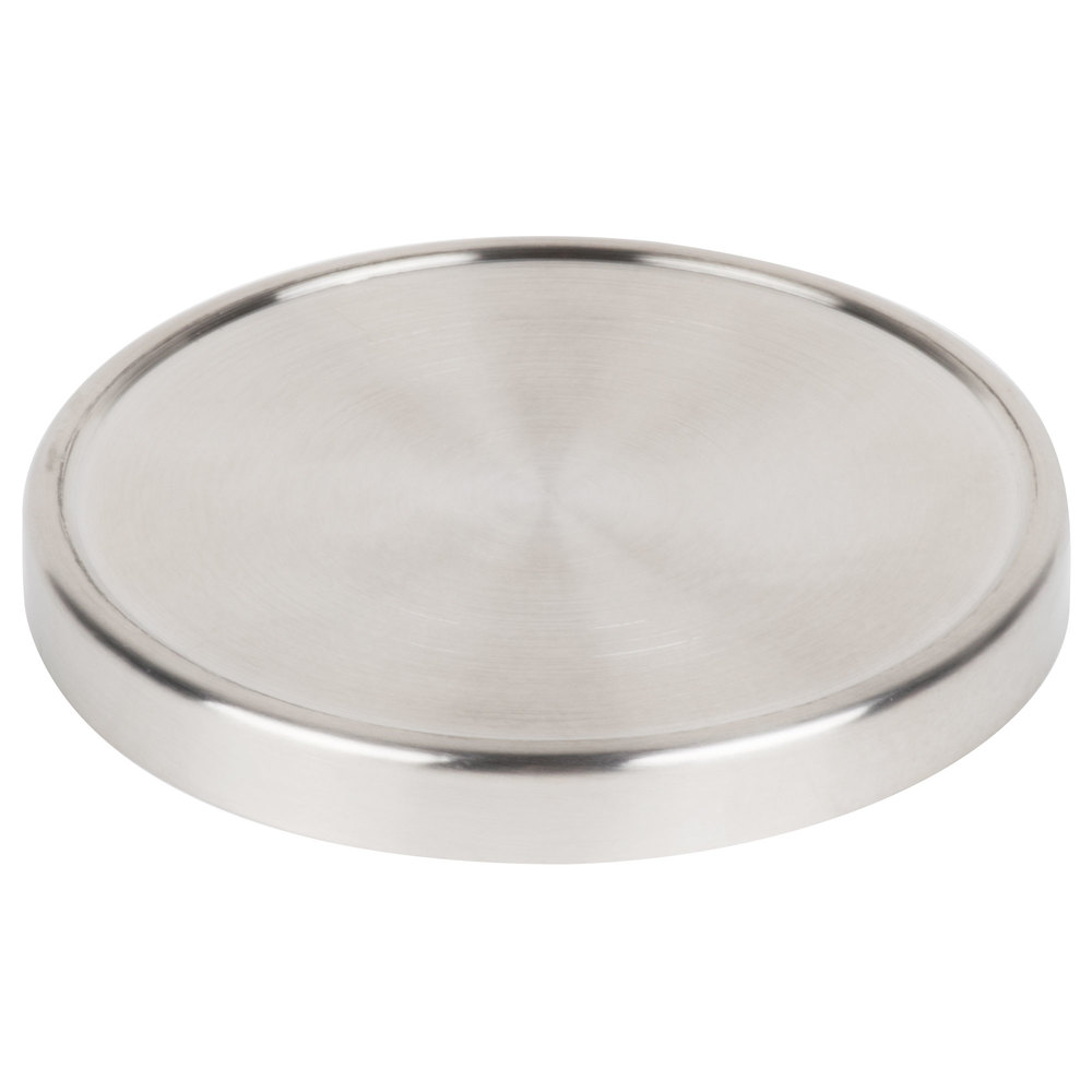 Cal-Mil 1851-4LID Replacement 16 oz. Stainless Steel Small Mixology Jar Lid