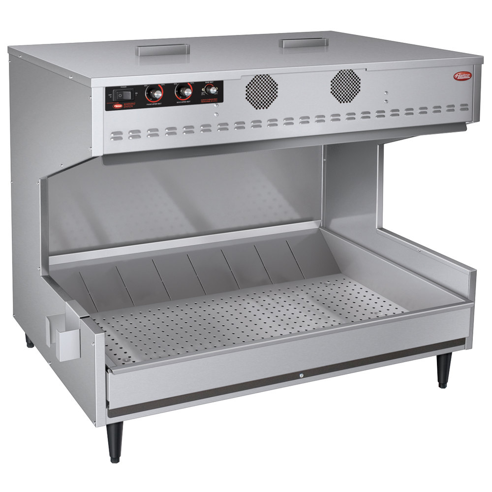 "Hatco MPWS36 36"" Freestanding Multi-Product Warming Station - 120/208V, 2773W"
