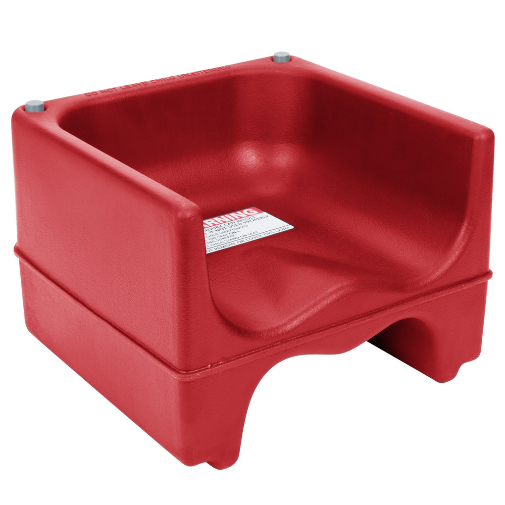 Cambro 200BC Dual Seat Booster Chair - Hot Red
