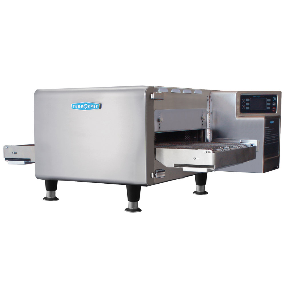 "TurboChef HHC1618 48"" High h Conveyor Oven - Single Belt, 208/240V, 3 Phase"