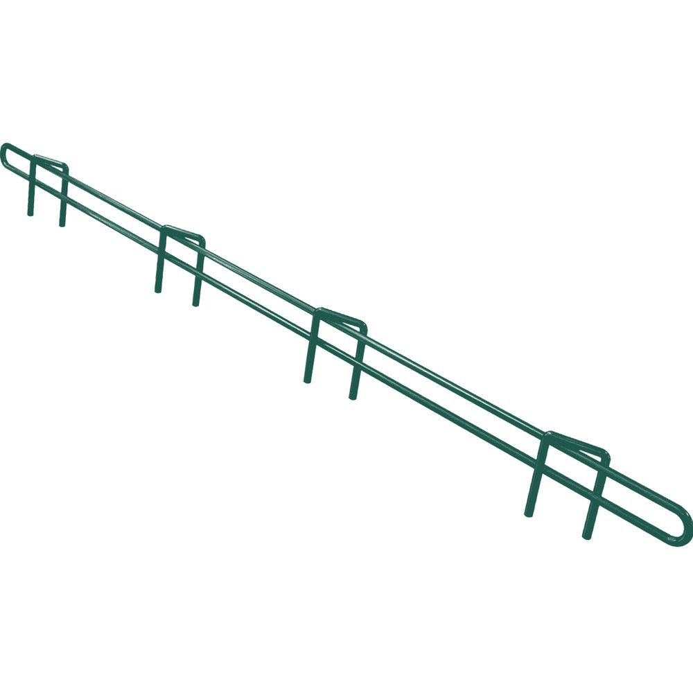 "Metro L24N-1-DHG Super Erecta Hunter Green Ledge 24"" x 1"""
