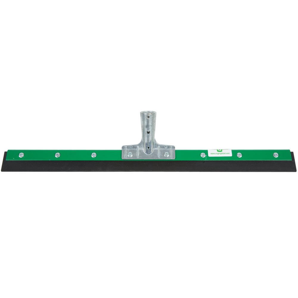 Unger fp600 aquadozer heavy duty 24quot straight floor squeegee for Floor squeegees heavy duty