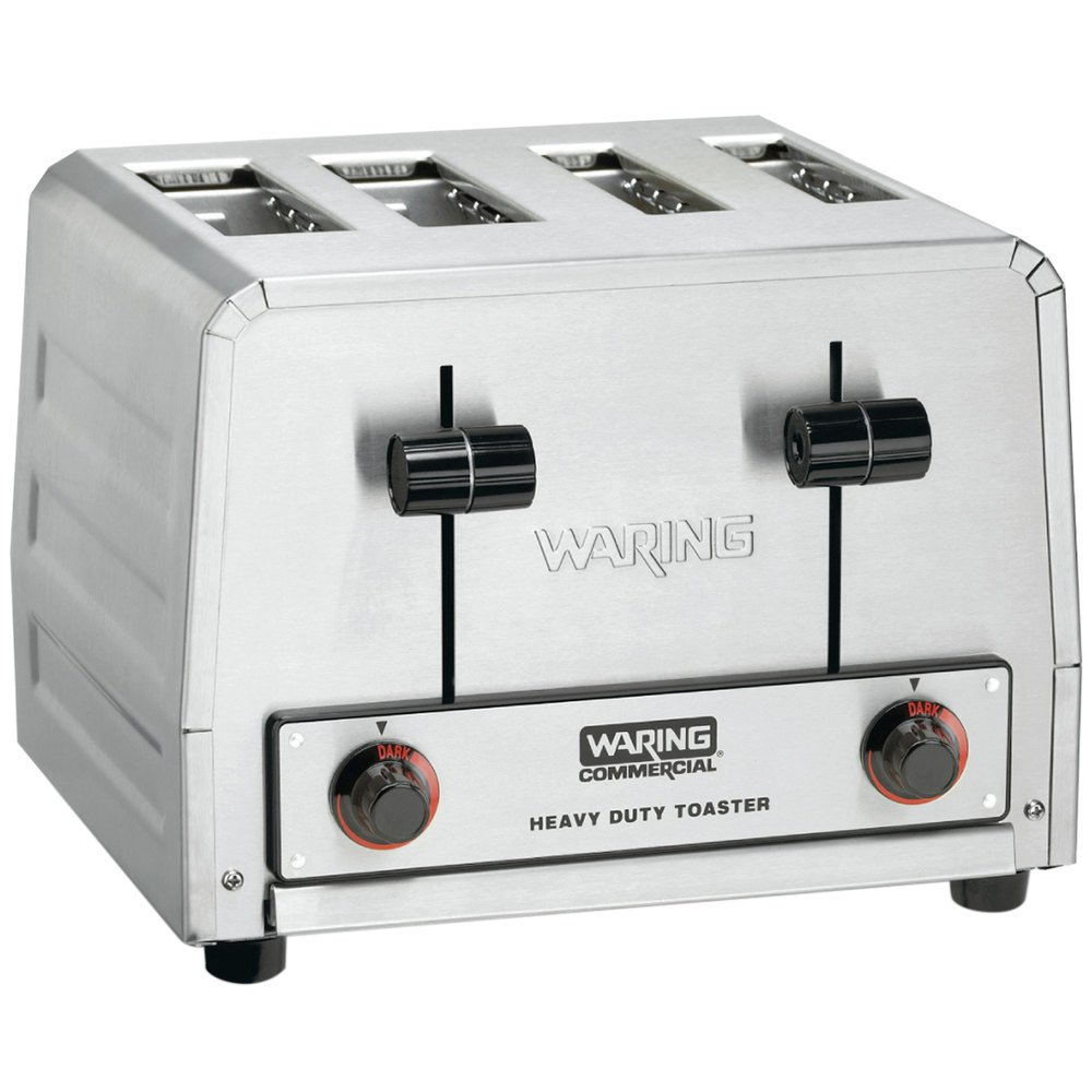 Waring WCT800 Heavy Duty 4 Slice Commercial Toaster 2200W