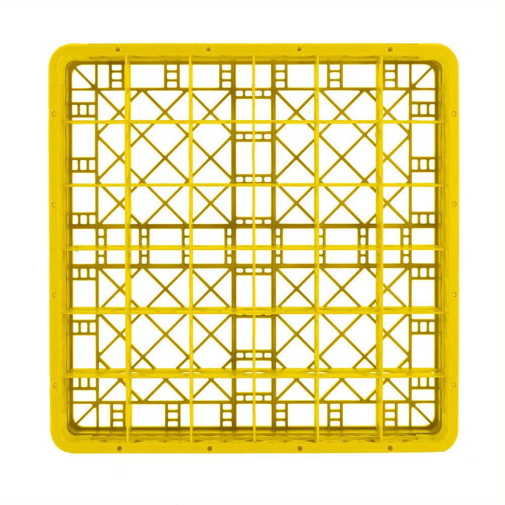 Yellow Kitchen Equipment: Vollrath TR7CCCC Traex® Full-Size Yellow 36-Compartment 9