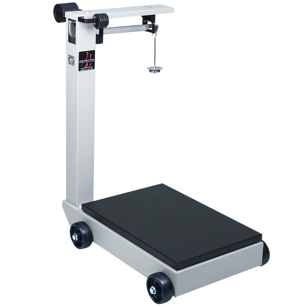 Cardinal detecto 854f100pk 1000 lb 500 kg portable for 1000 lb floor scale