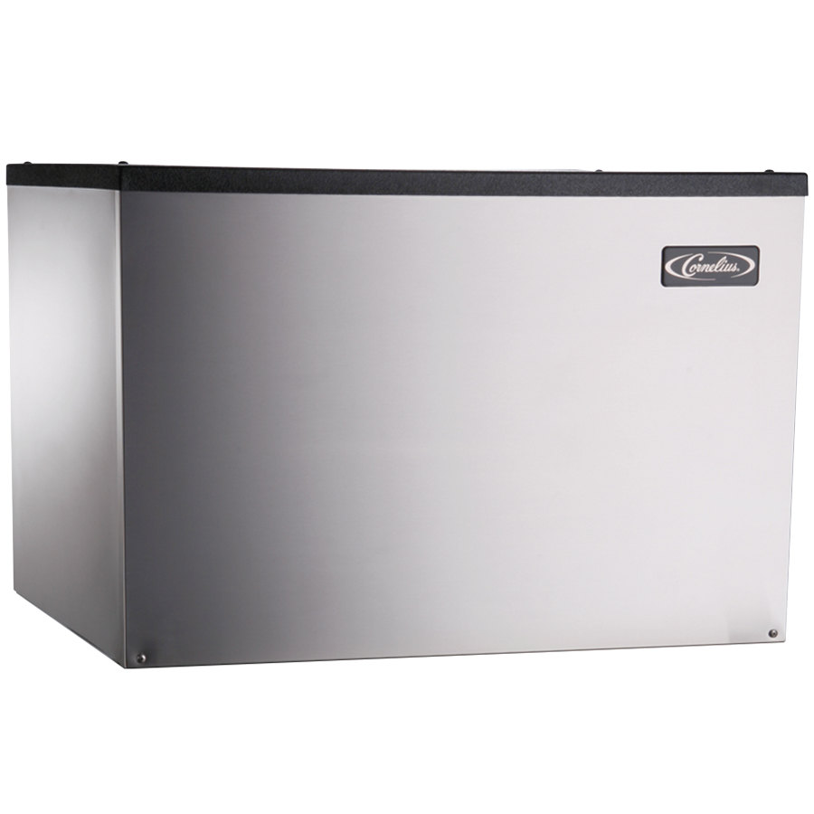 "Cornelius CCM1030AH2 Nordic Series 30"" Air Cooled Half Size Cube Ice Machine - 1201 lb."