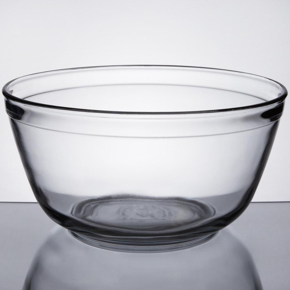 Anchor Hocking 81629L11 128 Oz. Glass Mixing Bowl