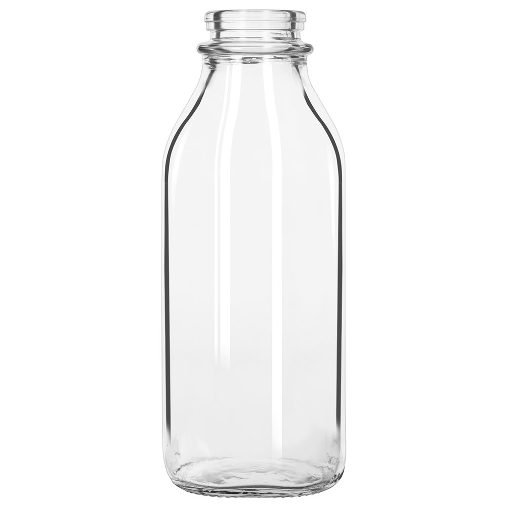 Libbey 92129 32 oz glass milk bottle 24 case - What to put in glass bottles ...