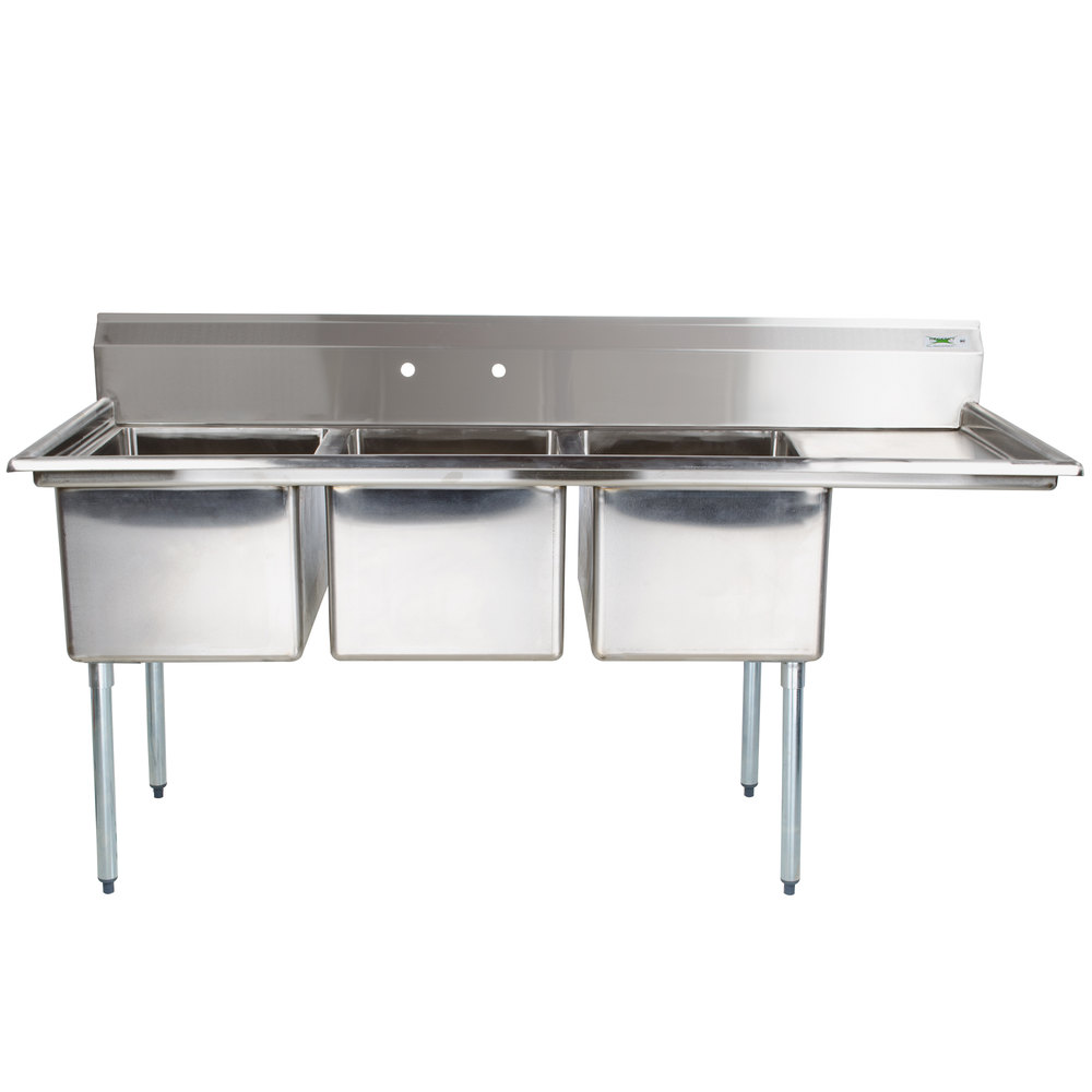 Right Drainboard Regency 66 1 2 Quot 16 Gauge Stainless Steel