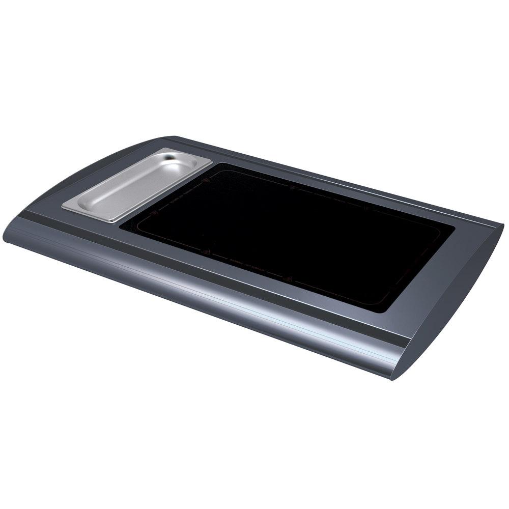 Hatco srg 1 gray granite serv rite portable heated glass for Sideboard porta