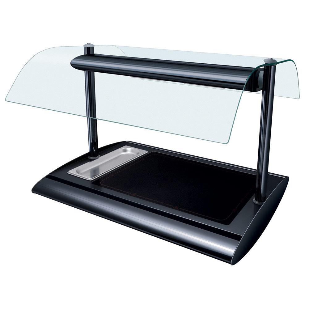 Hatco srgbw 1 bold black serv rite portable heated glass for Sideboard porta