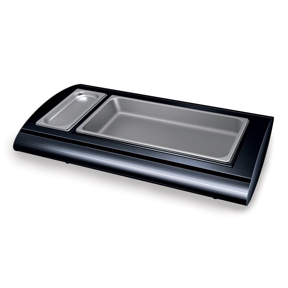 Hatco srb 1 bold black serv rite portable pan buffet for Sideboard porta