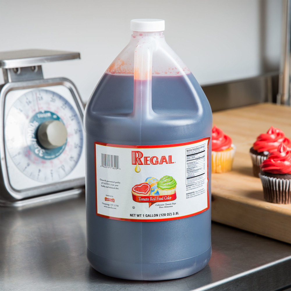 Red Food Coloring - 1 Gallon