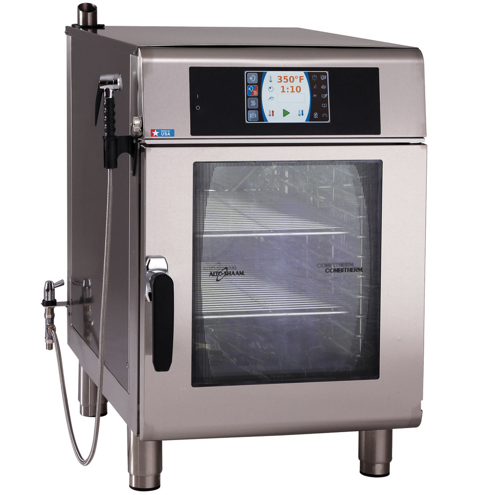 Alto-Shaam CTX4-10EC Combitherm CT Express Electric Boiler-Free 4 Pan Combi Oven with Express Controls and Catalytic Converters