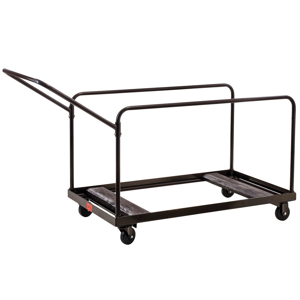 National Public Seating Dy 60r Round Folding Table Dolly