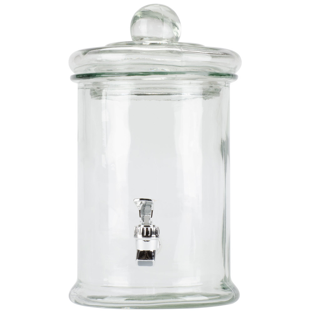 Jay Imports 1 3 Gallon Norfolk Clear Oval Glass Beverage