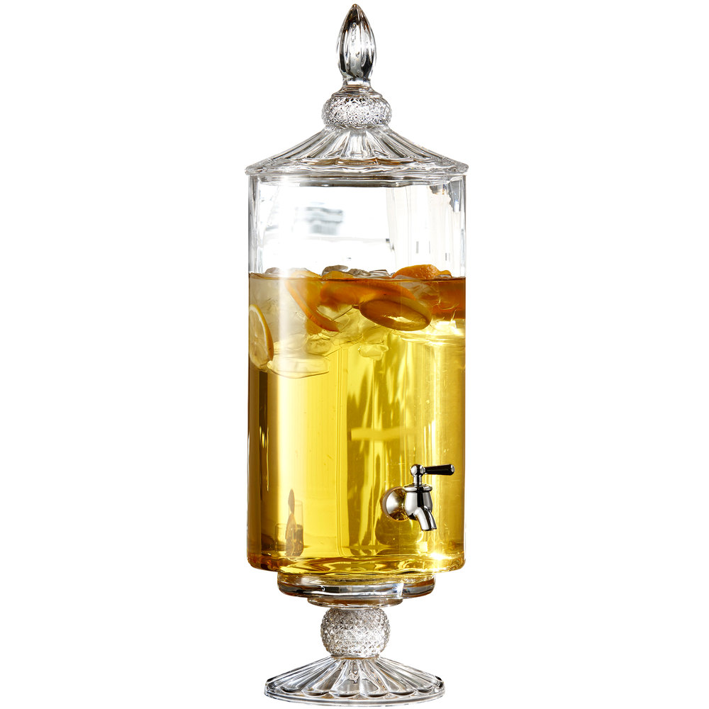 Jay Imports 2 Gallon Westchester Optic Round Glass