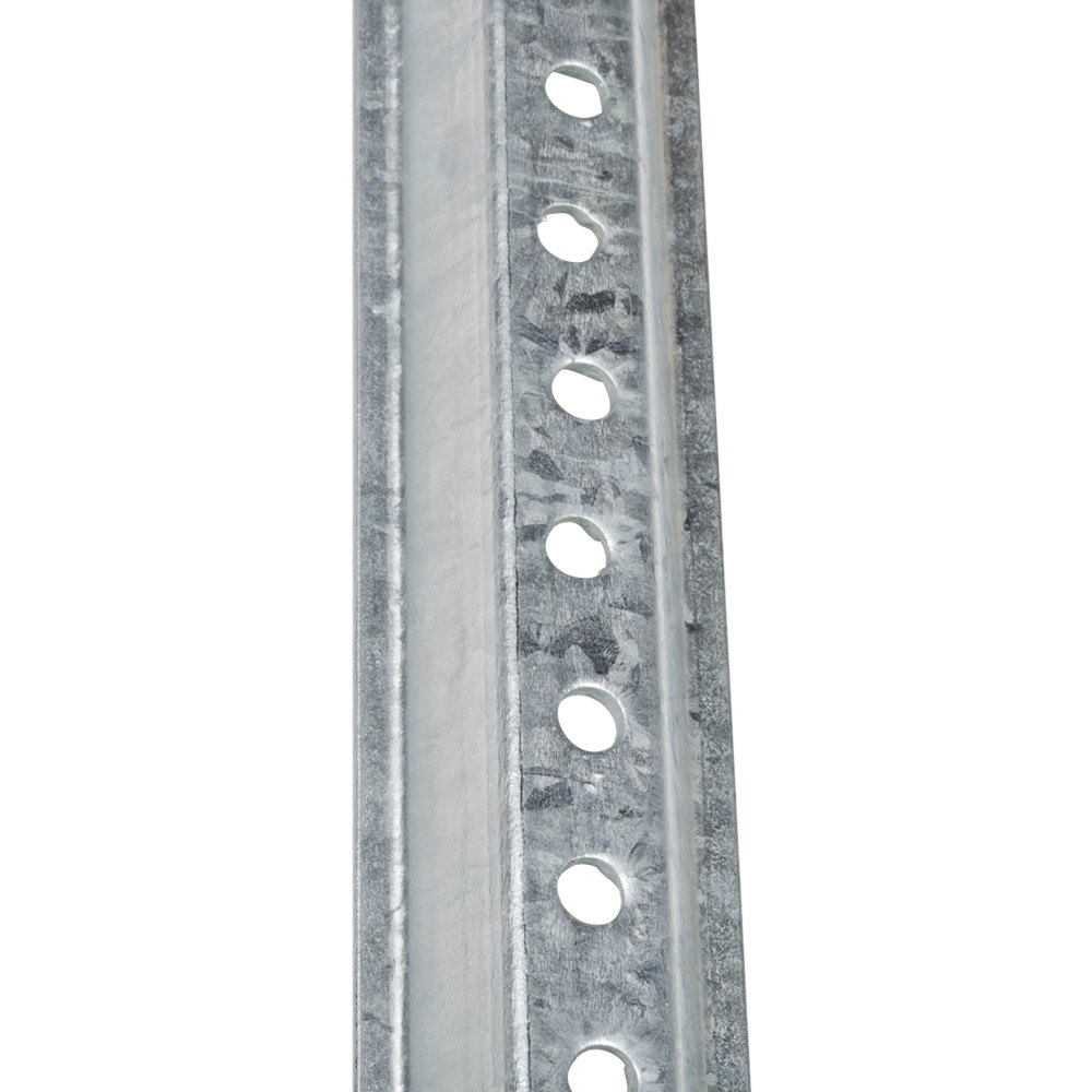 7' Galvanized Steel U Channel Sign Post