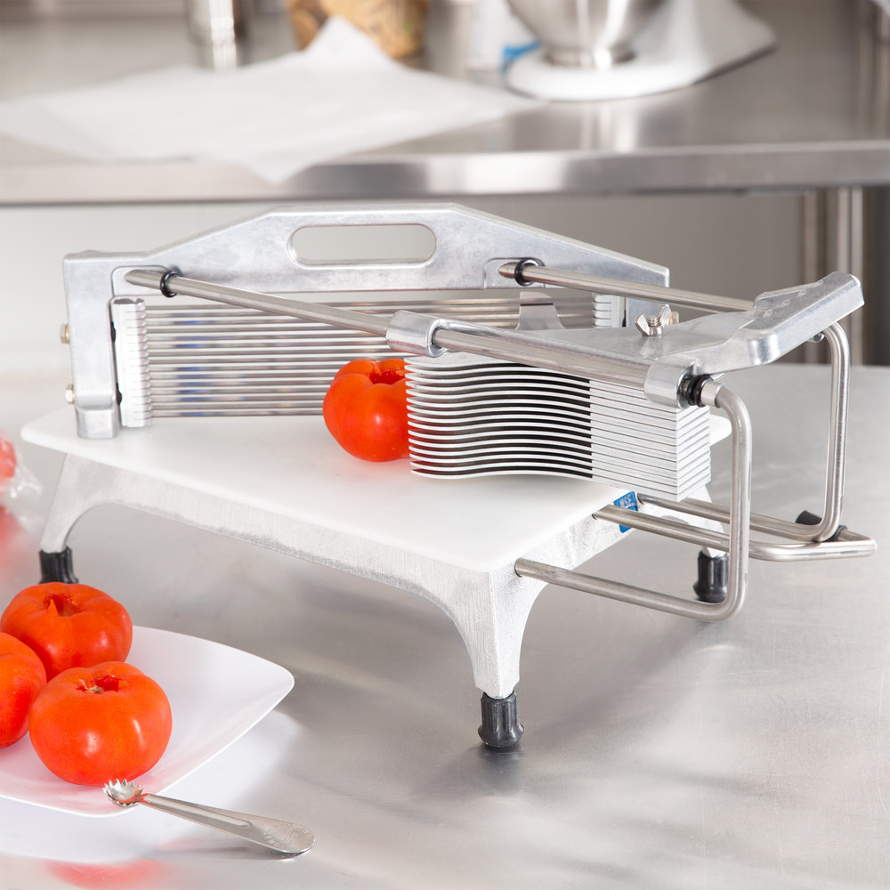 "Vollrath 0643N Redco Tomato Pro 3/16"" Tomato Slicer with Straight Blades"