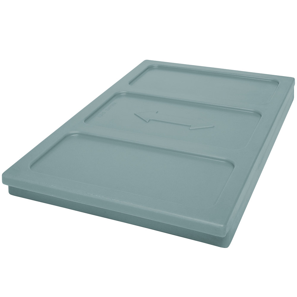 Cambro 1600DIV401 ThermoBarrier Slate Blue Insulated Shelf for CamKiosk Carts and UPC1600 Food Pan Carriers