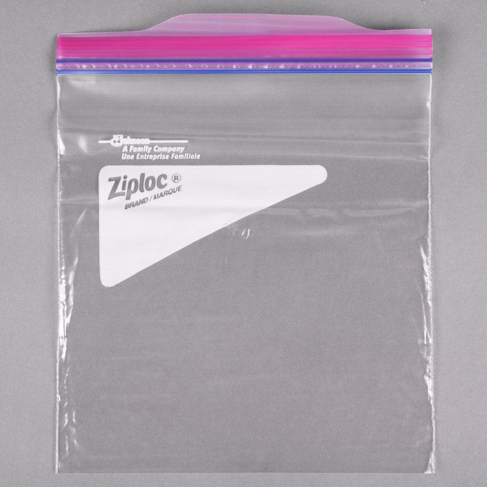 Sc Johnson Ziploc 174 682256 7 Quot X 7 7 16 Quot 1 Qt Storage Bags