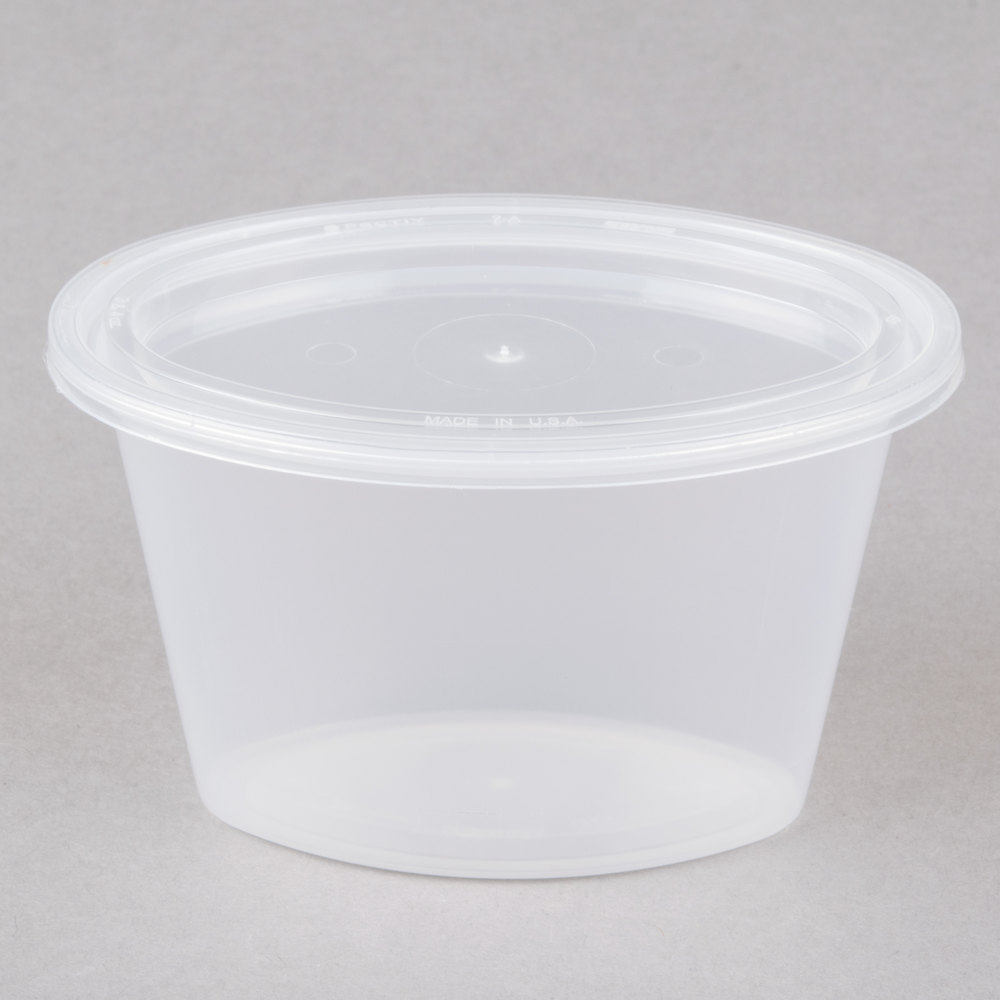 Newspring E506 Ellipso 6 Oz Oval Plastic Souffle