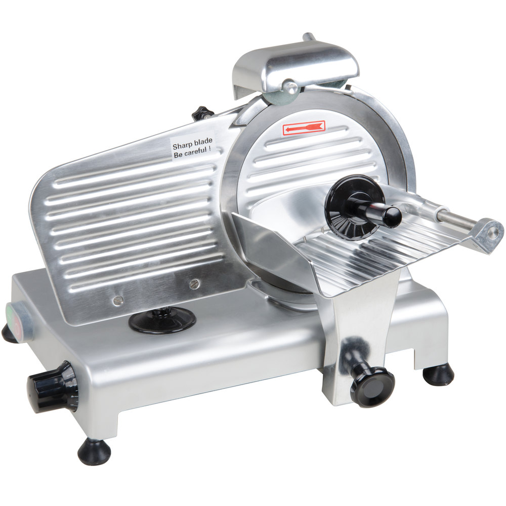 Avantco Sl309 9 Manual Gravity Feed Meat Slicer 1 4 Hp