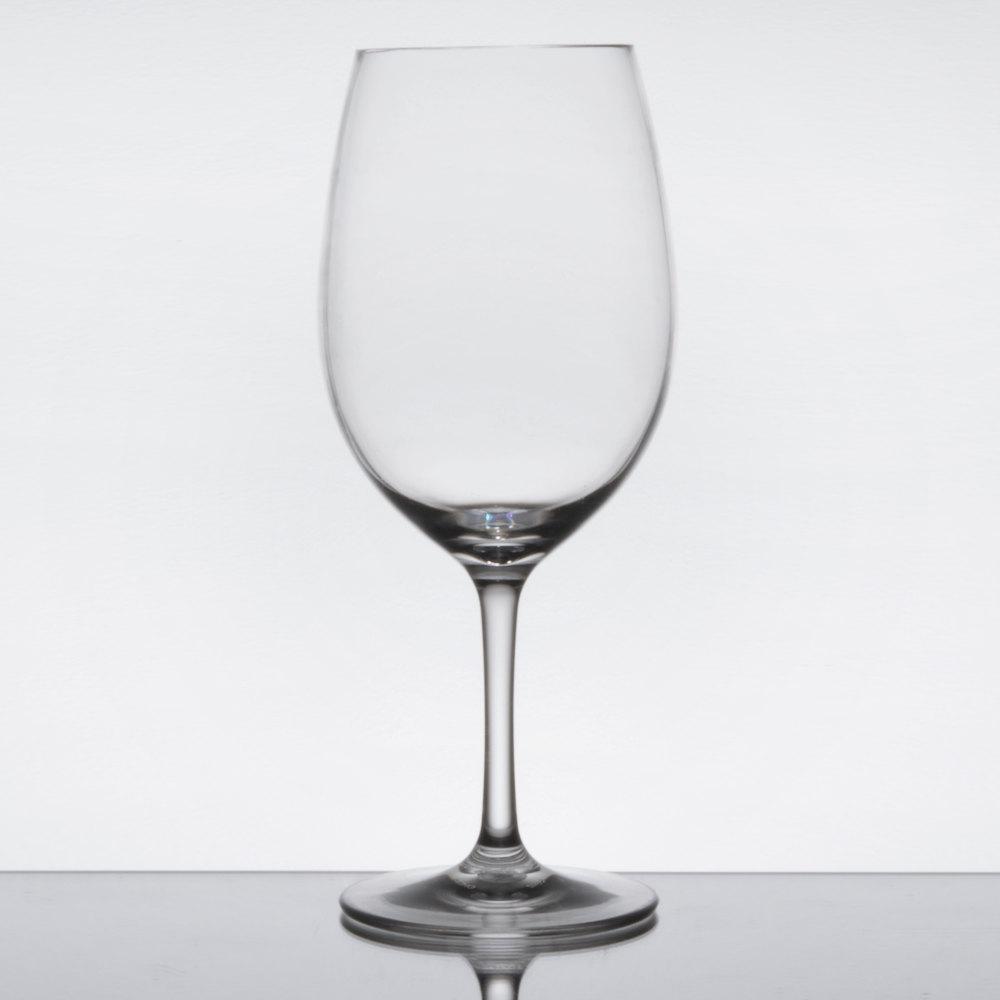 Carlisle 564207 Alibi 20 Oz Plastic Red Wine Glass 24 Case