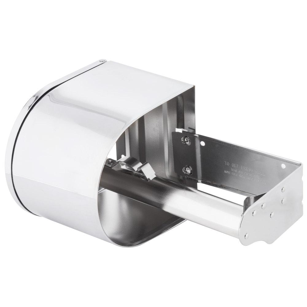 Continental 876C Double Toilet Tissue Dispenser 4 Chrome Toilet