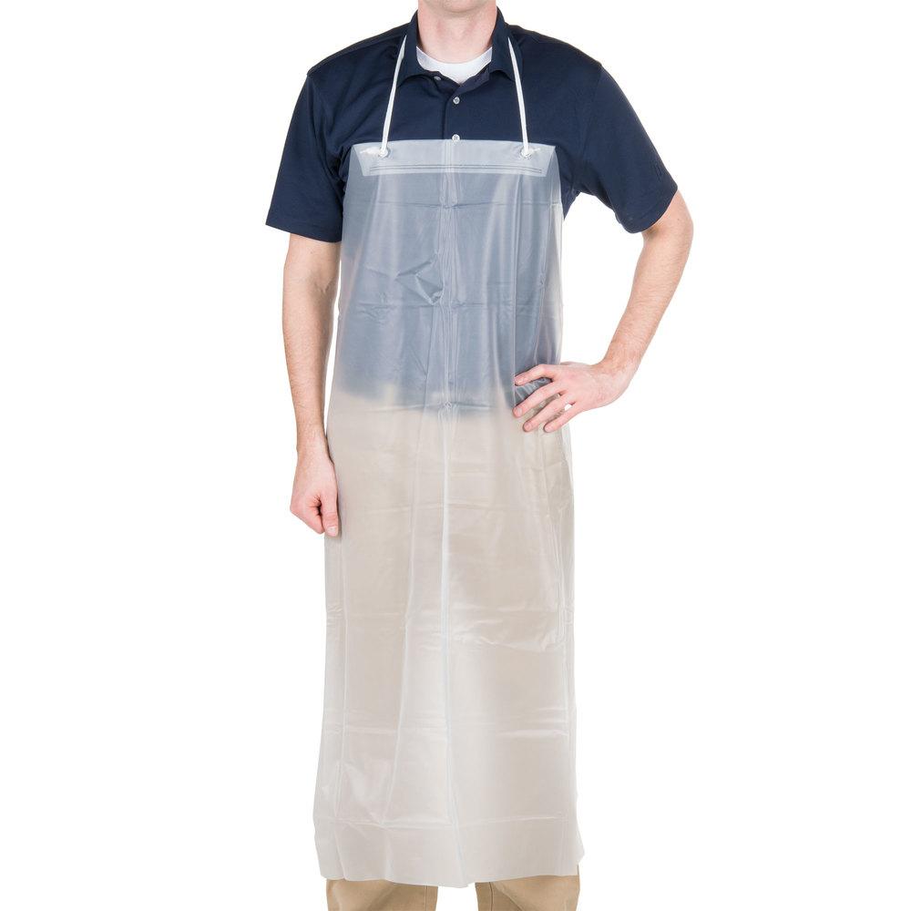 White neoprene apron - White Neoprene Apron 46