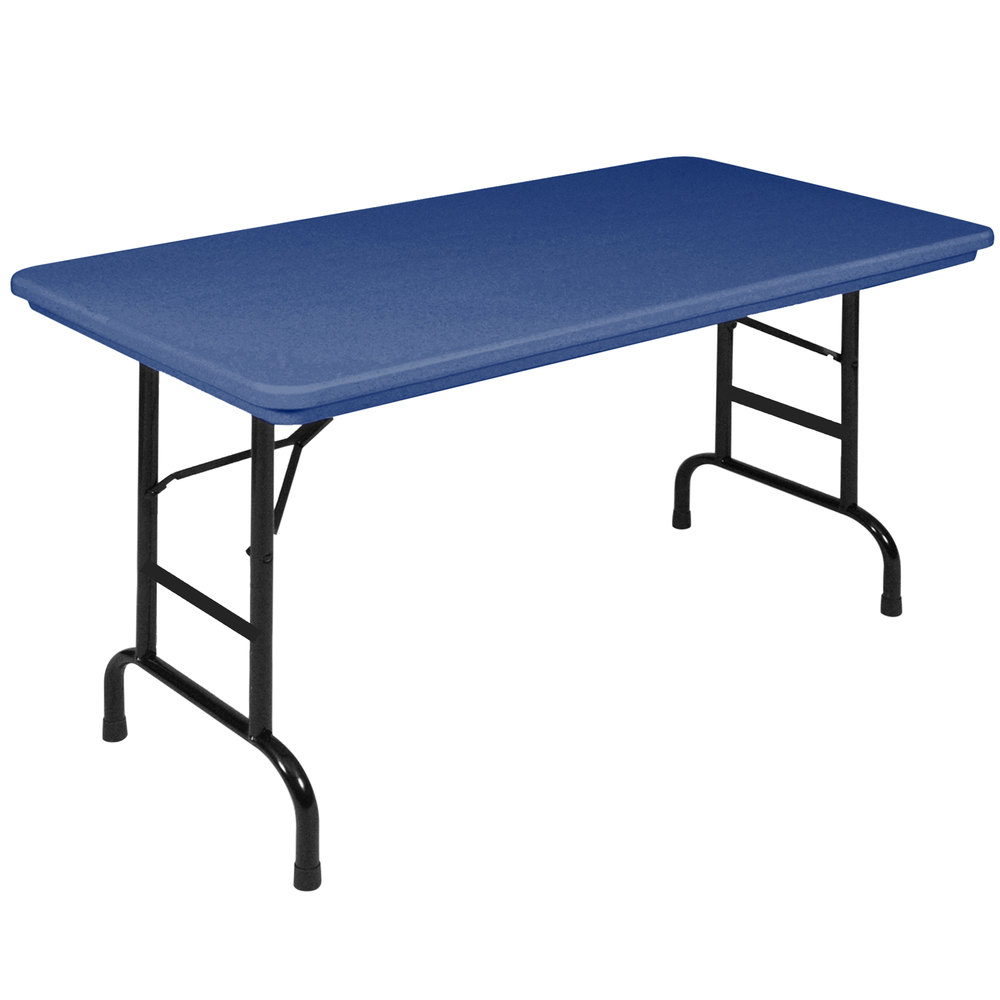 desks with storage correll folding table 24 quot x 48 quot plastic adjustable height 14700