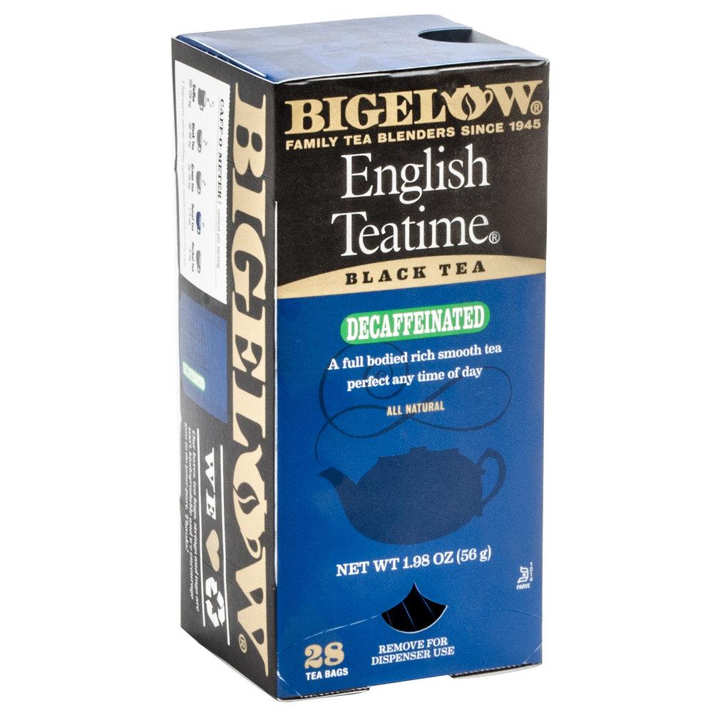 Bigelow english teatime