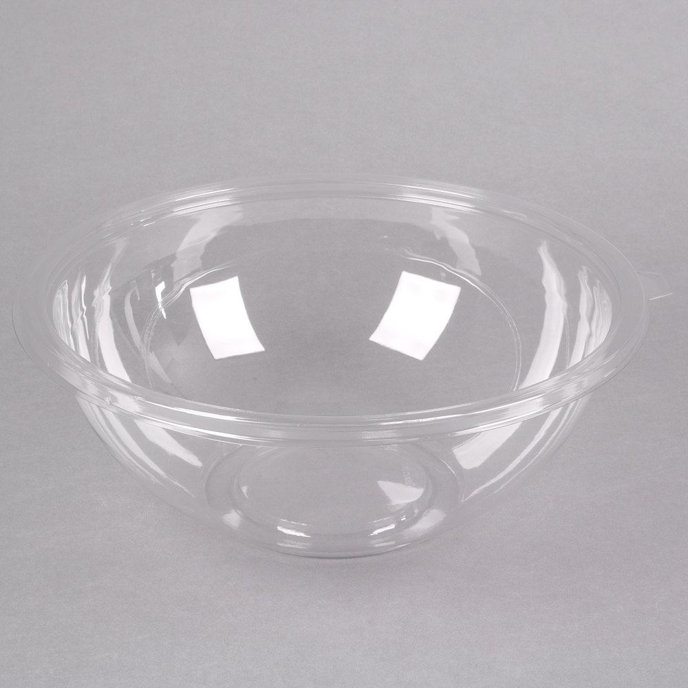 Fineline 5160 Cl Super Bowl 160 Oz Clear Pet Plastic Bowl