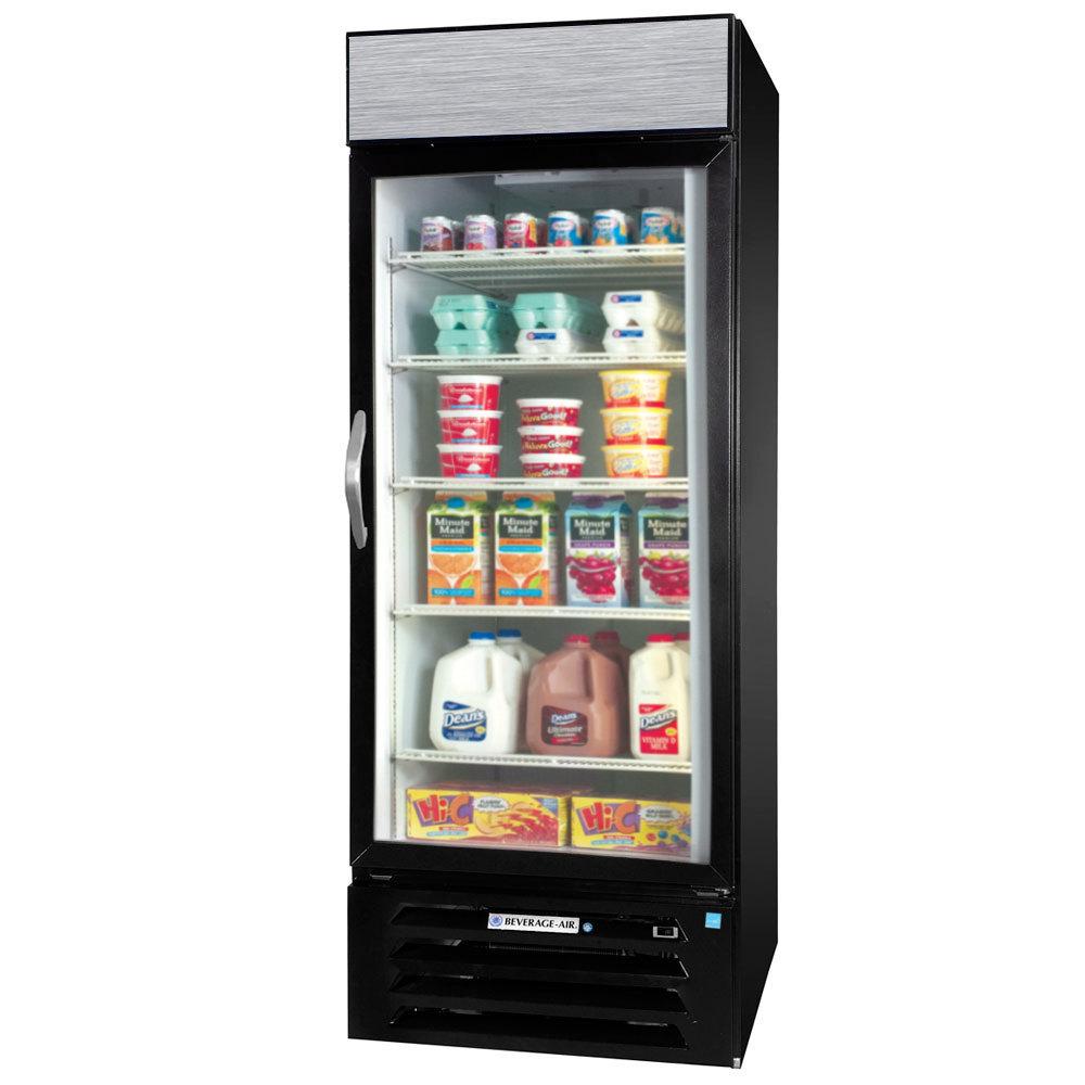 Beverage air mmr27hc 1 b black marketmax refrigerated glass door glass door merchandiser with led lighting main picture planetlyrics Choice Image