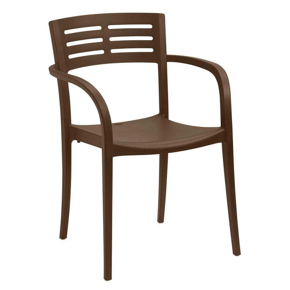 Grosfillex XA633275 US633275 Vogue Cafe Stacking Armchair