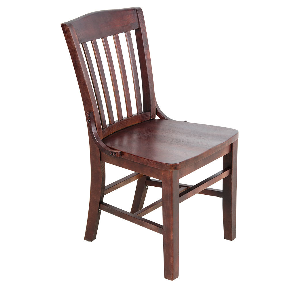 Big Wooden Chair ~ Lancaster table seating mahogany finish wooden school