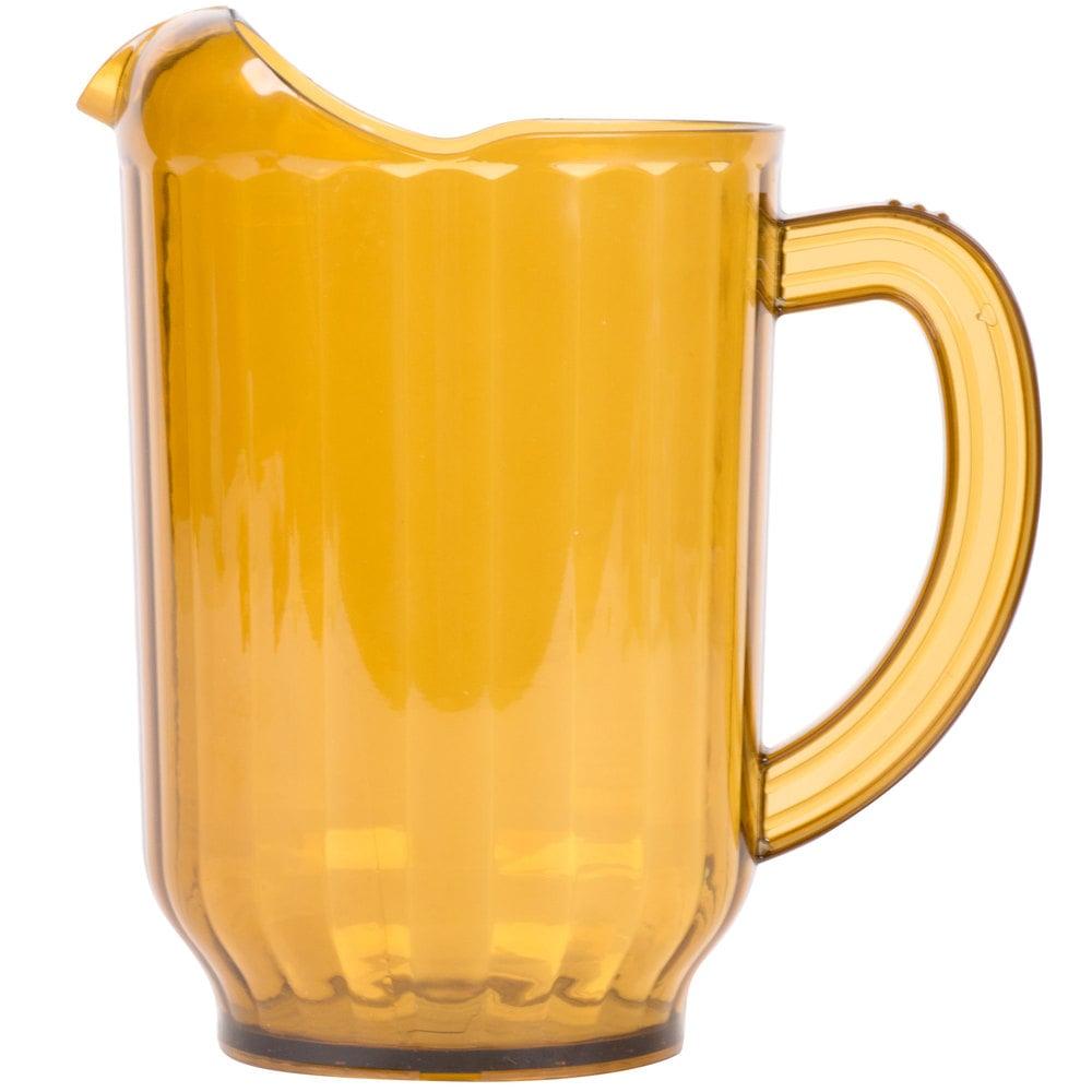 Carlisle 554013 Versapour 60 Oz Amber Polycarbonate