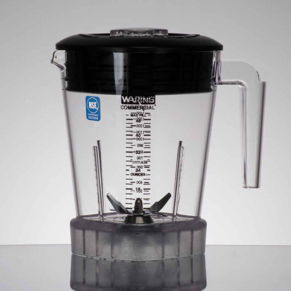 High Powered Blender ~ Waring cac oz copolyester jar with lid and blade