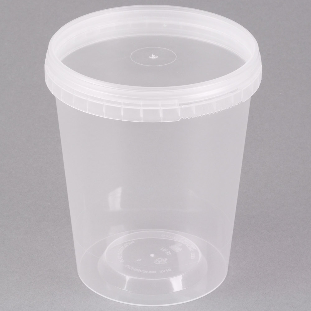32 Oz Deli Container With Lid 32 Oz Microwavable