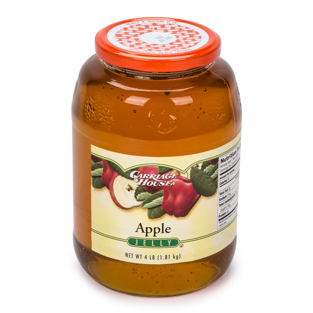 Apple Jelly 4 lb. Glass Jar