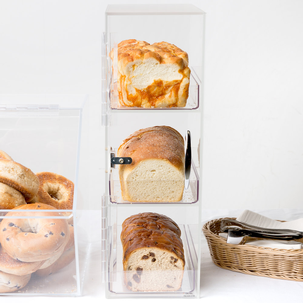 Cal-Mil 1204 Three Section Bread Box