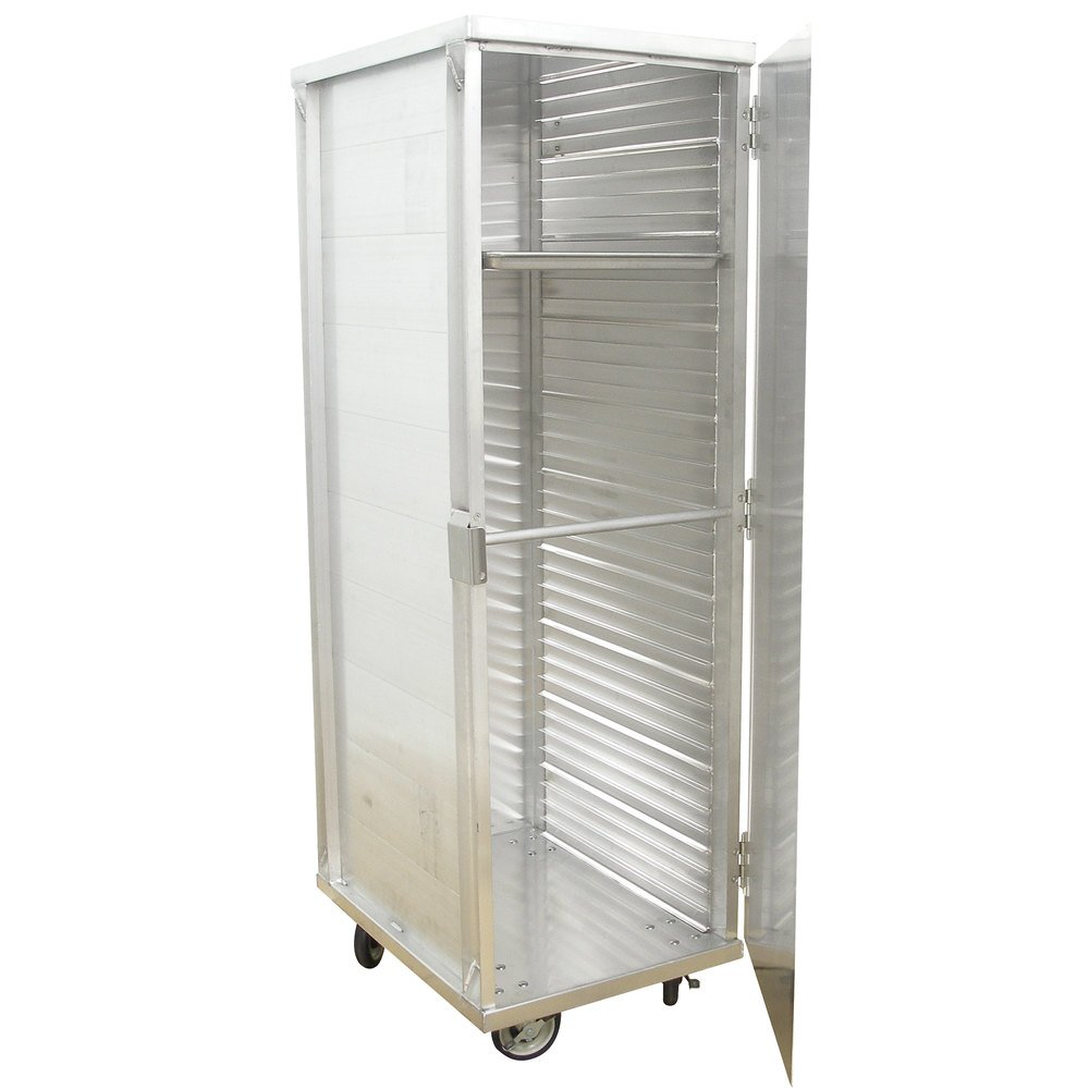 Advance Tabco EPC-40 40 Enclosed End Load Pan Cabinet - Assembled