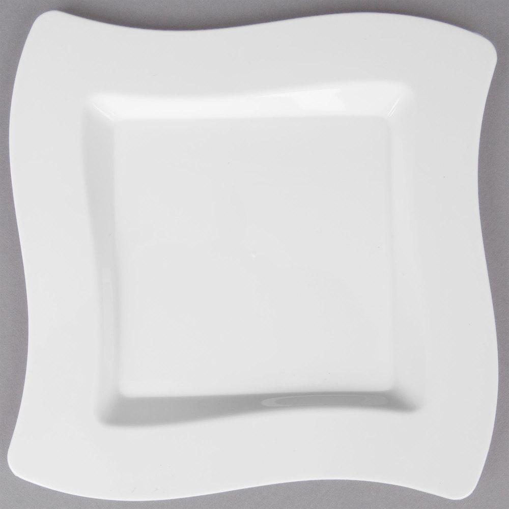 Fineline Wavetrends 106 Wh 6 1 2 Quot White Plastic Square