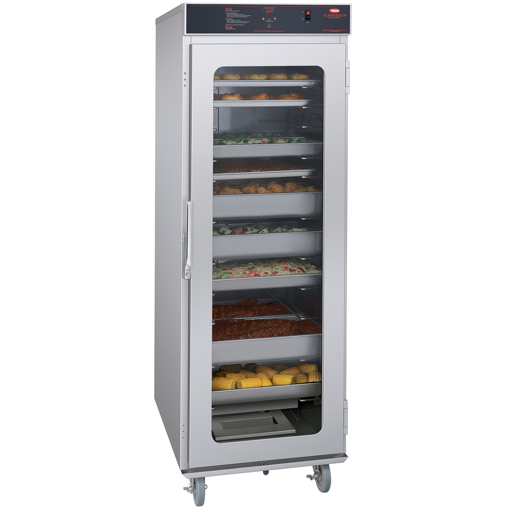Hatco FSHC-17W1 Flav-R-Savor Full Height Holding and Proofing Cabinet with Clear Door