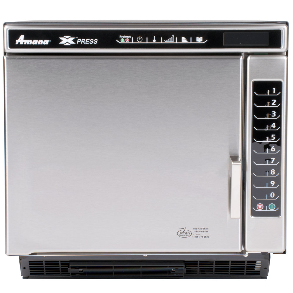 Amana Countertop Convection Oven : ... ACE14V Jetwave High-Speed Accelerated Cooking Ventless Countertop Oven