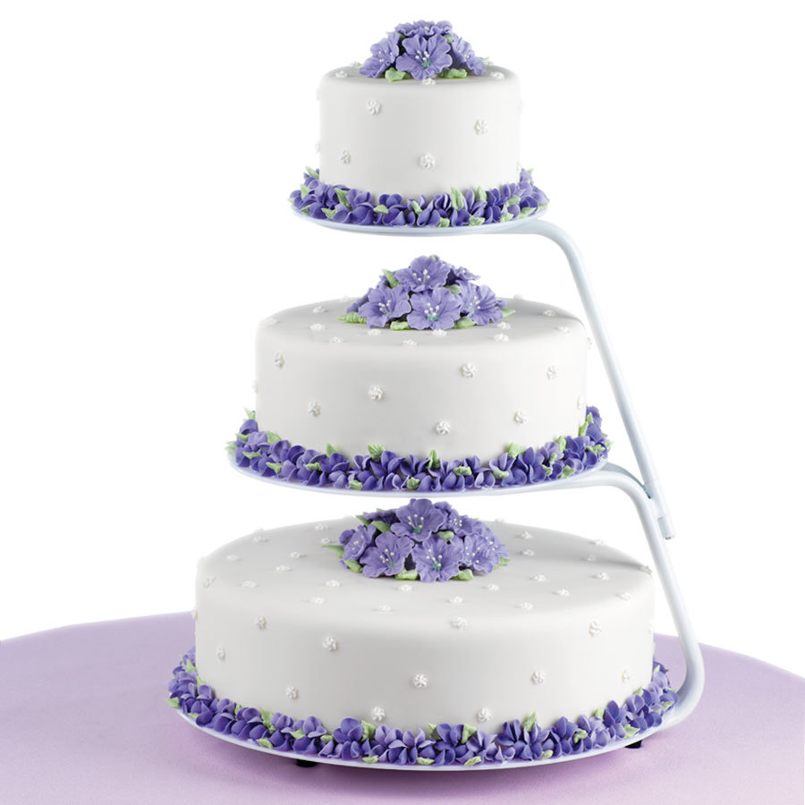 Wilton 307-710 Floating Tiers Cake Display Stand