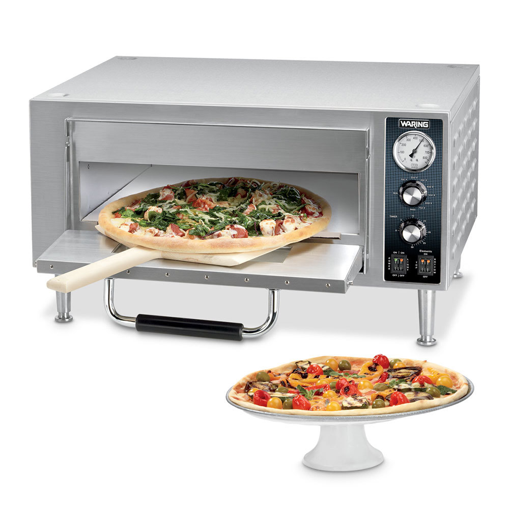 Countertop Pizza Oven Used : Waring WPO500 Single Deck Countertop Pizza Oven