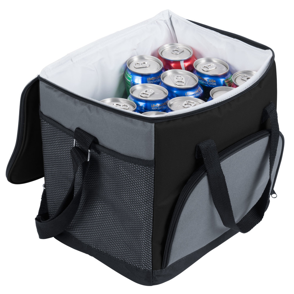 Choice Insulated Cooler Bag Soft Cooler Black Nylon 12