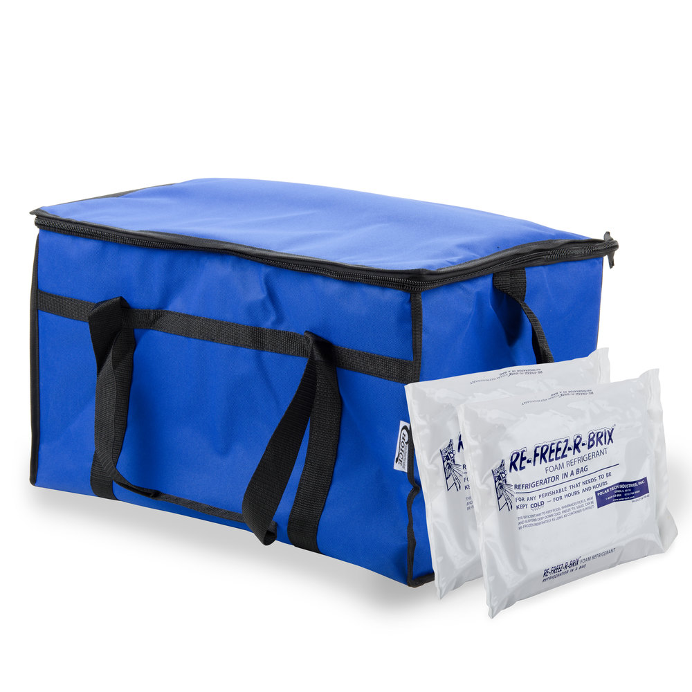 Choice Soft Sided 21 Quot X 12 Quot X 13 Quot Blue Insulated Nylon